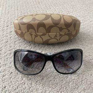 Coach Sunglasses Sarah S437 with Case Black